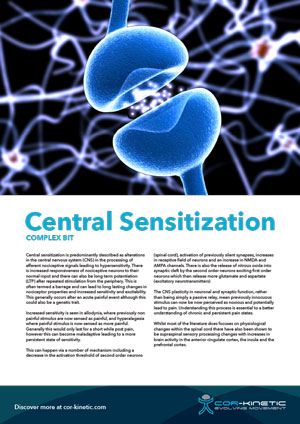 Digital Central Sensitization 1