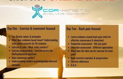 Copy Of Therapeutic Movement & Exercise ONLINE